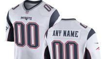 Nike Men's New England Patriots Customized Game Away Jersey