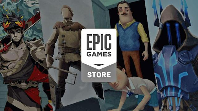 The Epic Games Store is live