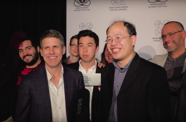 Backstage with the big winners of the IGF and GDC awards