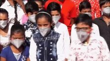 'My right to breathe': Indian students protest against pollution