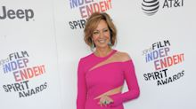 Allison Janney, 58, wows in fuchsia on Independent Spirit Awards red carpet