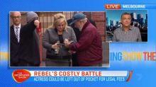 Rebel's costly battle