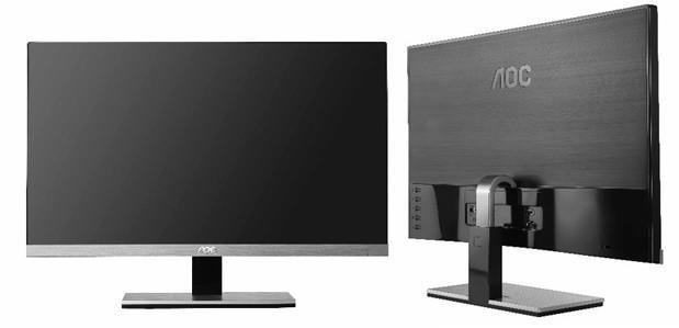 AOC's 23-inch IPS monitor almost skips the bezel, ships soon for $199