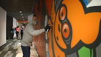 San Francisco tech companies embrace office graffiti