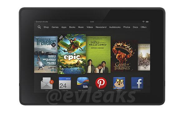 Leaked Kindle Fire render lends credence to incoming refresh