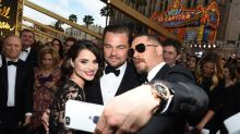 Oscars 2016: Tom Hardy and Leonardo DiCaprio Take Epic Selfies On The Red Carpet