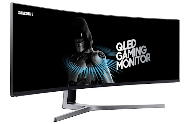 Samsung's beastly 49-inch QLED display is built for gaming