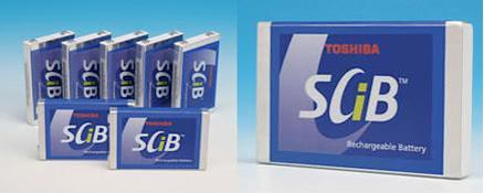 Toshiba launching SCiB batteries in March: 5 min charge, 10 year lifespan