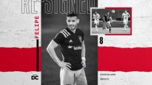 D.C. United Re-sign Midfielder Felipe Martins through 2021
