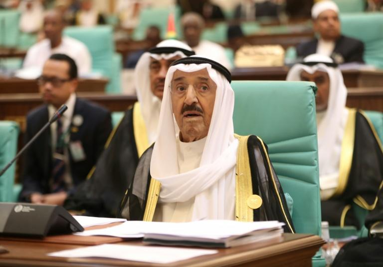 Kuwait's Emir Sheikh Sabah al-Ahmad Al-Sabah ascended to power in January 2006