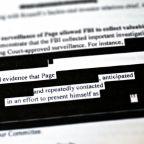 FBI, DOJ Said to Plan Redactions Despite Trump's Document Order