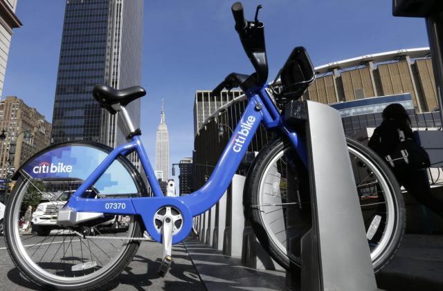 Lyft adds New York's Citi Bikes to its app