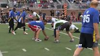 Wounded Warriors Take On Cowboys Greats
