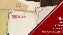 Explained: Singapore's Official Secrets Act