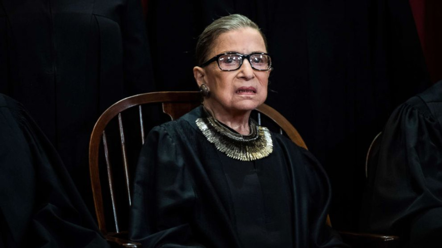 Ruth Bader Ginsburg treated for cancer