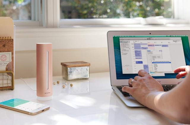 Netatmo's home monitor tracks air quality, humidity and more
