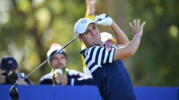 Golf - PGA Tour - Workday Charity Open: Justin Thomas seul en tête, chassé par Viktor Hovland