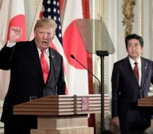 Trump publicly disagrees with Japan's Abe over North Korea missile threat, calling Kim 'smart man'