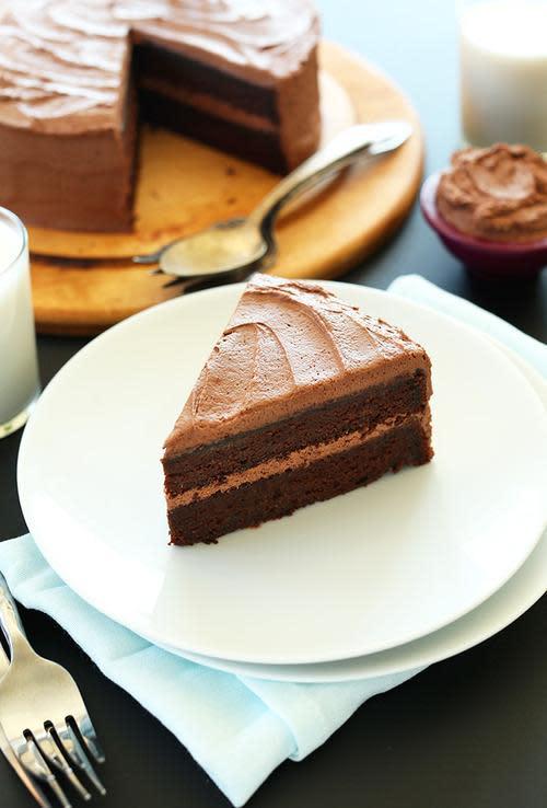 Minimalist Baker One Bowl Chocolate Cake