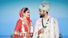 Nusrat Jahan marries businessman Nikhil Jain, shares first photo on social media