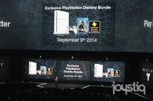 White PlayStation 4 bundle debuts alongside Destiny [Update: $449]