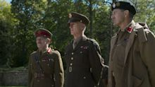 Churchill gives John Slattery's Eisenhower a piece of his mind in exclusive new clip