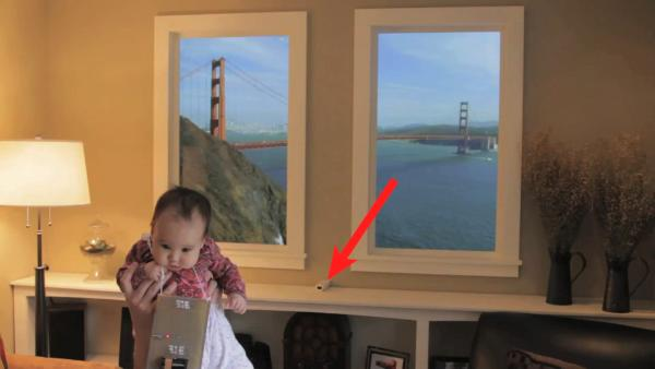 Winscape virtual window features Wiimote headtracking, absolutely made of win