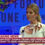 Ivanka Trump busted for extensive use of personal email