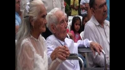 Paraguay: Couple Marry After 80 Years Together