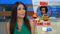 Bethenny Frankel Delivers Pop News for 'GMA'