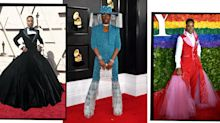 Billy Porter'sThom Browne BabyPink Dress Is Giving Us Serious Marie Antoinette Vibes Today