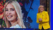 Samantha Bee praises Ivanka Trump, challenges late-night hosts over parental leave
