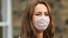 Where to buy the Duchess of Cambridge's £15 face mask and other affordable floral designs