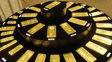Gold notches a gain after back-to-back session declines