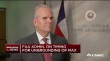 FAA chief on reinstating the Boeing 737 Max