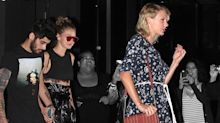Taylor Swift Wore Tommy x Gigi Out in NYC Because She's a Really Supportive Friend