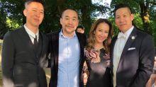 LA Boyz' Steven Lin ties the knot