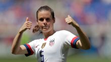 U.S. Fans March To Women's World Cup Match Demanding Equal Pay