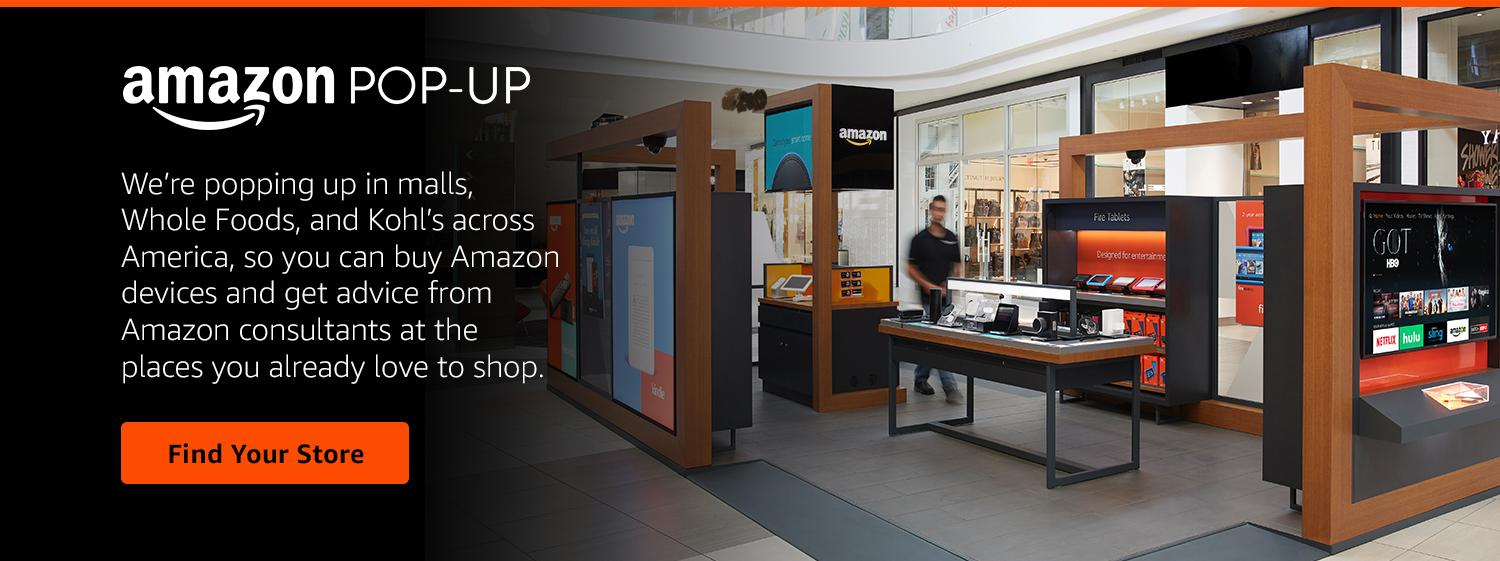 Retailers Should Be Wary Amazoncom Is Closing All Its Pop Up Stores