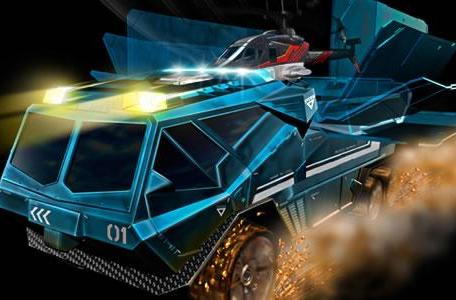 Video: Silverlit's Heli-Mission SWAT Truck brings your Blue Thunder fantasies to a rockin' reality