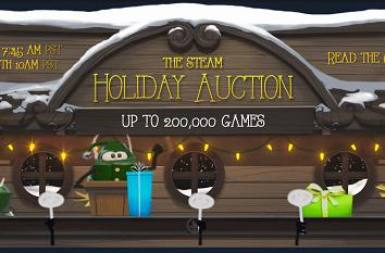 Steam Holiday Auction in a gem of a jam, temporarily closed [update]