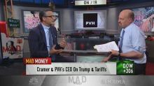 Cooler heads will prevail on China tariffs: PVH CEO