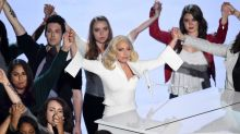 Lady Gaga Got Matching Tattoos With Sexual Assault Survivors From Emotional Oscars Performance