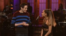 Ariana Grande and Pete Davidson Attend Kanye West, Kid Cudi Listening Party Together: Pics!