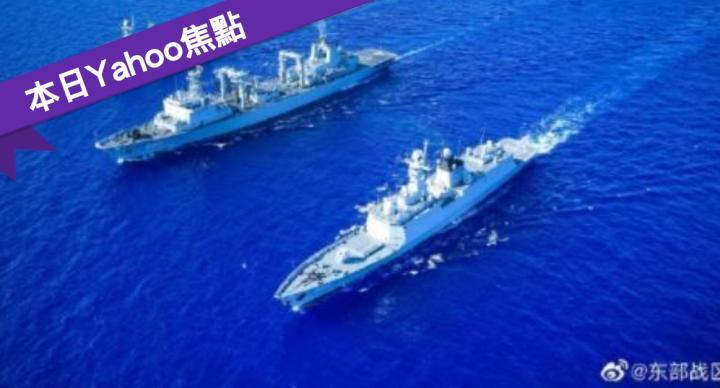 共軍宣布:在台海兩端實戰軍演