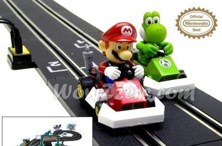 Mario Kart DS hits the meatspace