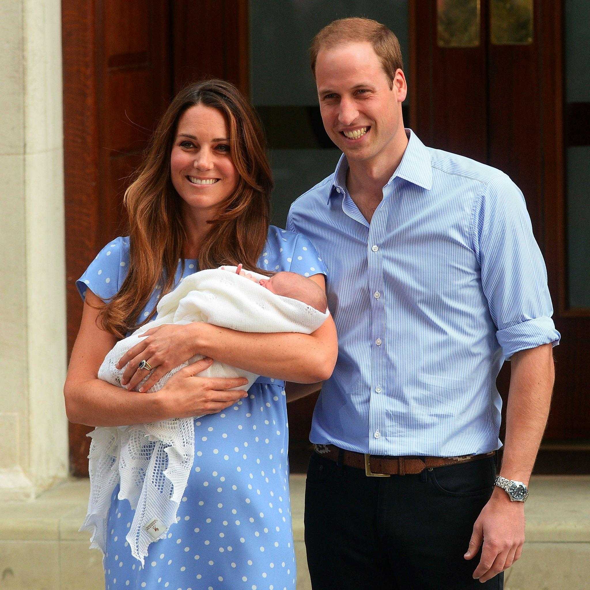 Prince George Was The Heaviest Royal Baby In 50 Years, And