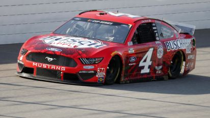 Kevin Harvick wins in overtime at Michigan