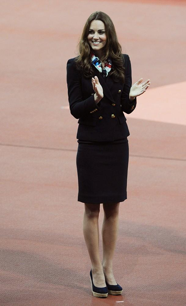 Kate looked chic and professional at the Paralympics Day 4 medal ceremony.