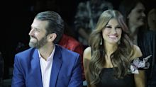 Donald Trump Jr. and Kimberly Guilfoyle join former stepmom Marla Maples for America-themed fashion show